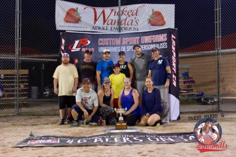 Ottawa Softball – SBW Sloppy Seconds Tournament Post game –  A Finals – Dirty Ball Bags vs Evil Empire