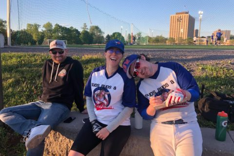 Ottawa Softball Post Game, Makeup Game 1 – Eh vs Bate Island Strikers